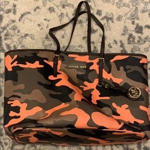 Michael Kors Camo Print Tote Bag